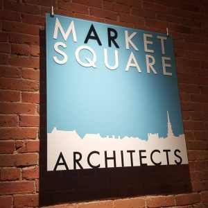 Market Square Architects Sign