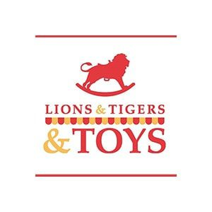 Lion TIgers Toys Logo Market Square Architects